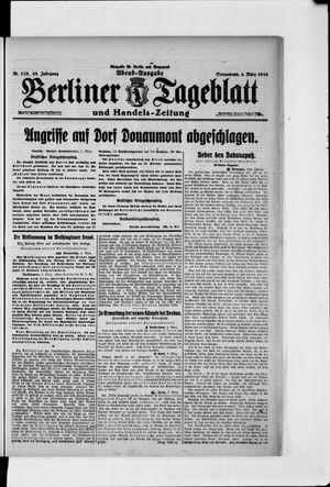 Berliner Tageblatt und Handels-Zeitung vom 04.03.1916