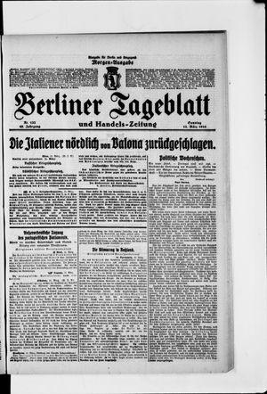 Berliner Tageblatt und Handels-Zeitung vom 12.03.1916