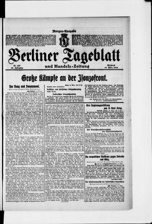 Berliner Tageblatt und Handels-Zeitung vom 15.03.1916