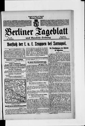 Berliner Tageblatt und Handels-Zeitung vom 18.03.1916