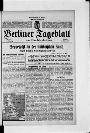 Berliner Tageblatt und Handels-Zeitung vom 21.03.1916