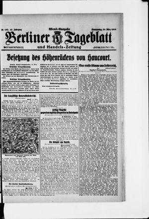 Berliner Tageblatt und Handels-Zeitung vom 23.03.1916