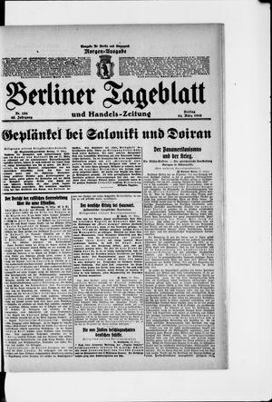 Berliner Tageblatt und Handels-Zeitung vom 24.03.1916