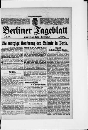 Berliner Tageblatt und Handels-Zeitung vom 26.03.1916
