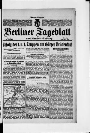 Berliner Tageblatt und Handels-Zeitung vom 28.03.1916