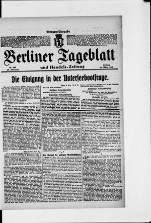 Berliner Tageblatt und Handels-Zeitung vom 31.03.1916