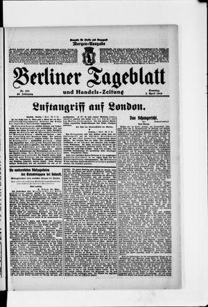 Berliner Tageblatt und Handels-Zeitung vom 02.04.1916