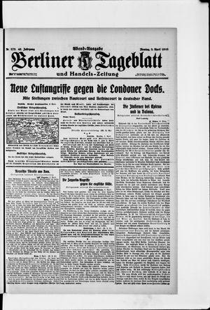 Berliner Tageblatt und Handels-Zeitung vom 03.04.1916