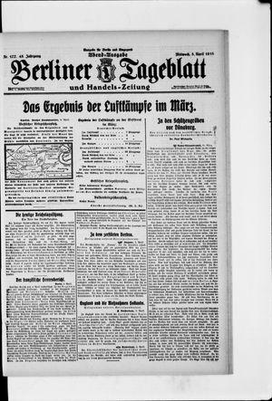 Berliner Tageblatt und Handels-Zeitung vom 05.04.1916
