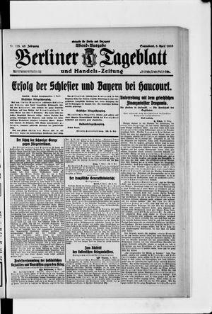 Berliner Tageblatt und Handels-Zeitung vom 08.04.1916