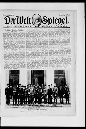 Berliner Tageblatt und Handels-Zeitung vom 13.04.1916