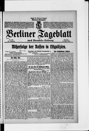 Berliner Tageblatt und Handels-Zeitung on Apr 18, 1916
