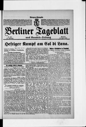 Berliner Tageblatt und Handels-Zeitung vom 19.04.1916