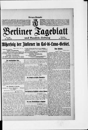 Berliner Tageblatt und Handels-Zeitung vom 23.04.1916