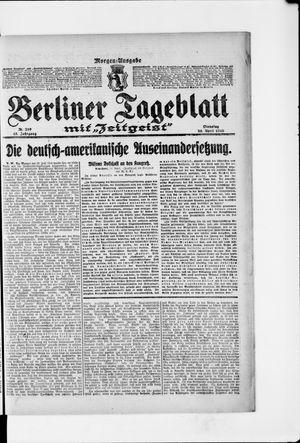 Berliner Tageblatt und Handels-Zeitung vom 25.04.1916