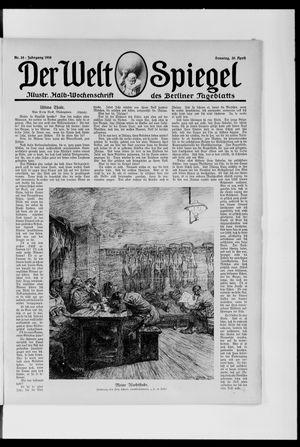 Berliner Tageblatt und Handels-Zeitung on Apr 30, 1916
