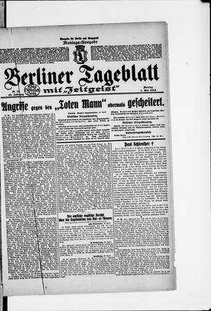 Berliner Tageblatt und Handels-Zeitung vom 01.05.1916