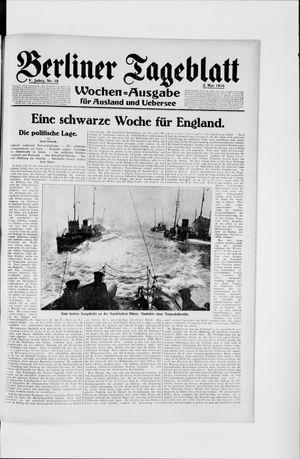 Berliner Tageblatt und Handels-Zeitung vom 02.05.1916