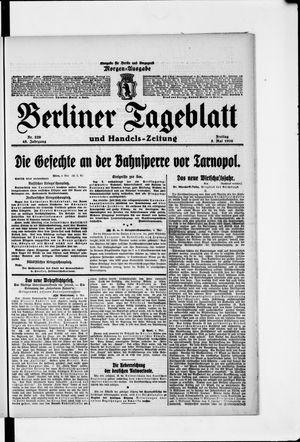Berliner Tageblatt und Handels-Zeitung vom 05.05.1916
