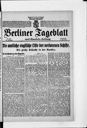 Berliner Tageblatt und Handels-Zeitung vom 03.06.1916