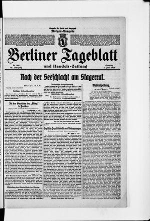 Berliner Tageblatt und Handels-Zeitung vom 04.06.1916