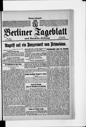 Berliner Tageblatt und Handels-Zeitung vom 10.06.1916