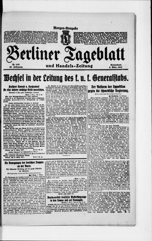 Berliner Tageblatt und Handels-Zeitung vom 03.03.1917
