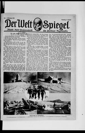 Berliner Tageblatt und Handels-Zeitung vom 06.01.1918