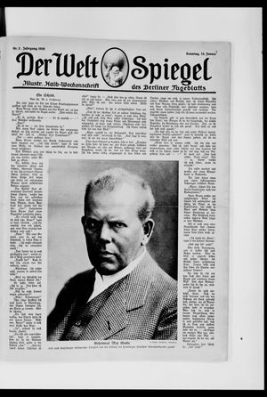 Berliner Tageblatt und Handels-Zeitung vom 13.01.1918