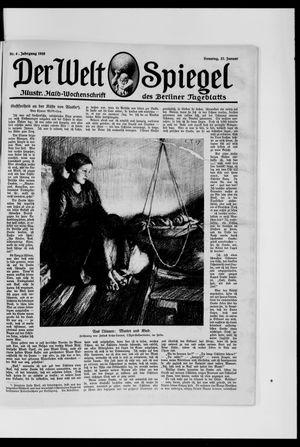 Berliner Tageblatt und Handels-Zeitung vom 27.01.1918