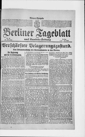 Berliner Tageblatt und Handels-Zeitung on Feb 1, 1918