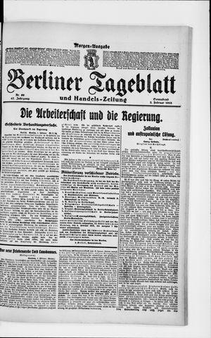 Berliner Tageblatt und Handels-Zeitung vom 02.02.1918