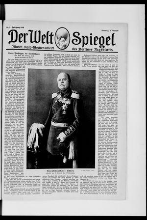 Berliner Tageblatt und Handels-Zeitung vom 03.02.1918