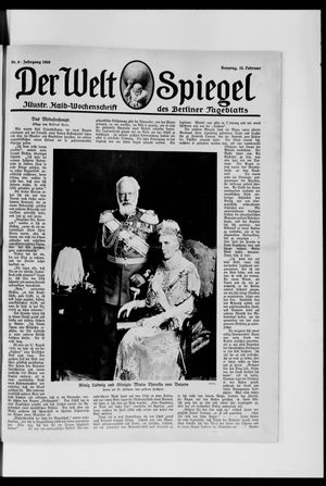 Berliner Tageblatt und Handels-Zeitung vom 10.02.1918