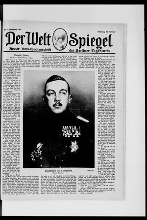 Berliner Tageblatt und Handels-Zeitung vom 24.02.1918