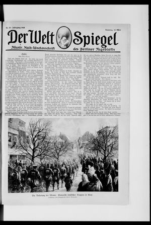 Berliner Tageblatt und Handels-Zeitung vom 10.03.1918