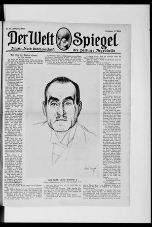 Berliner Tageblatt und Handels-Zeitung vom 17.03.1918