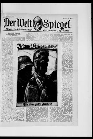 Berliner Tageblatt und Handels-Zeitung vom 31.03.1918