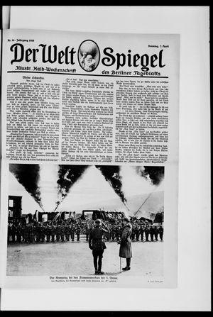 Berliner Tageblatt und Handels-Zeitung vom 07.04.1918