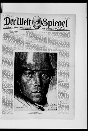 Berliner Tageblatt und Handels-Zeitung vom 12.05.1918