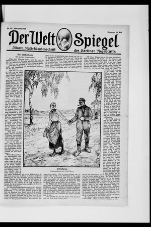 Berliner Tageblatt und Handels-Zeitung vom 19.05.1918