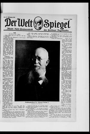 Berliner Tageblatt und Handels-Zeitung vom 02.06.1918