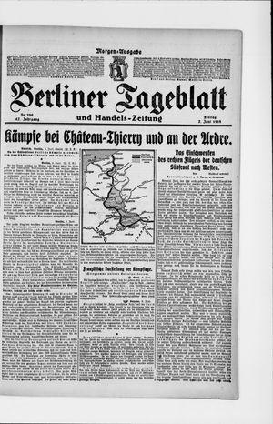 Berliner Tageblatt und Handels-Zeitung vom 07.06.1918