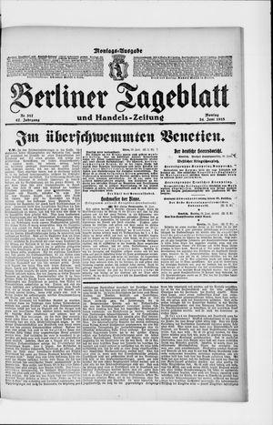 Berliner Tageblatt und Handels-Zeitung vom 24.06.1918