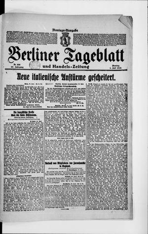 Berliner Tageblatt und Handels-Zeitung vom 01.07.1918