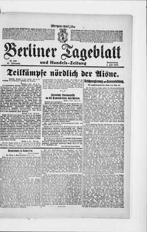 Berliner Tageblatt und Handels-Zeitung vom 04.07.1918