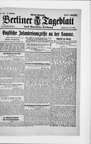 Berliner Tageblatt und Handels-Zeitung vom 05.07.1918
