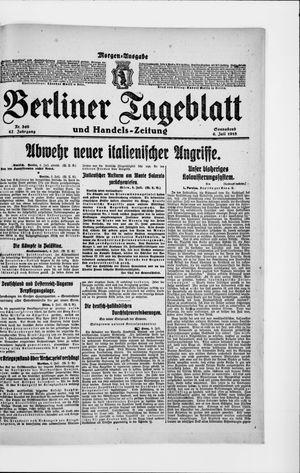 Berliner Tageblatt und Handels-Zeitung vom 06.07.1918