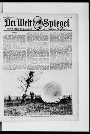 Berliner Tageblatt und Handels-Zeitung on Jul 7, 1918