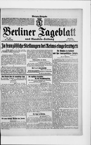Berliner Tageblatt und Handels-Zeitung on Jul 16, 1918